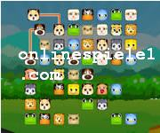 Animals connect Mahjong online spiele