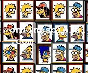 Tiles of the Simpsons Mahjong online spiele